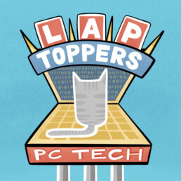 Sign Art for Lap Toppers PC Tech by Carl Vervisch
