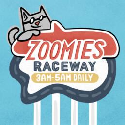 Artwork for Zoomies Raceway by Carl Vervisch